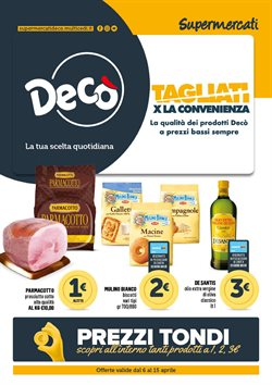 Catalogo Deco Supermercati ( Scade domani )