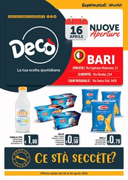 Catalogo Deco Supermercati a Bari ( 2  gg pubblicati )