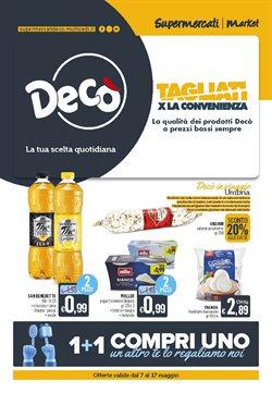 Catalogo Deco Supermercati ( Pubblicato ieri)