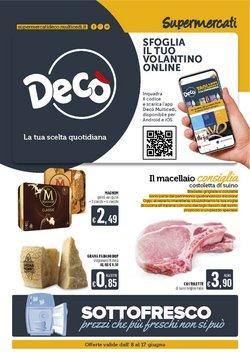Offerte di Iper Supermercati nella volantino di Deco Supermercati ( Scade domani)