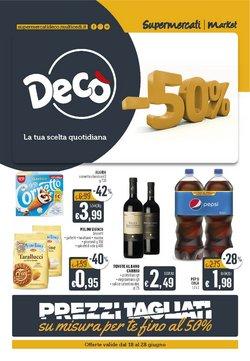 Offerte di Iper Supermercati nella volantino di Deco Supermercati ( Per altri 6 giorni)