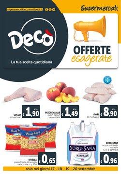 Offerte di Iper Supermercati nella volantino di Deco Supermercati ( Scade oggi)