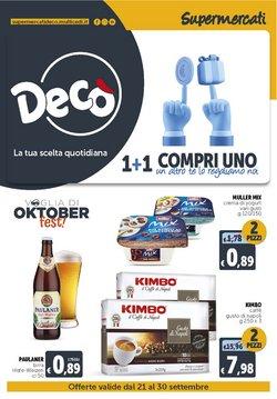 Offerte di Deco Supermercati nella volantino di Deco Supermercati ( Per altri 8 giorni)