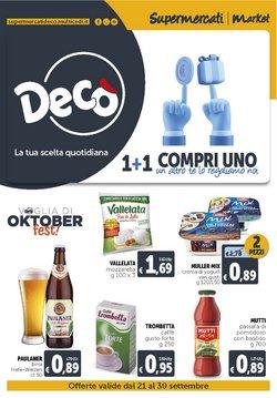 Offerte di Discount nella volantino di Deco Supermercati ( Scade domani)