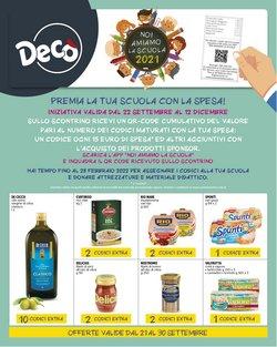 Offerte di Deco Supermercati nella volantino di Deco Supermercati ( Pubblicato oggi)