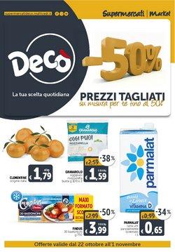 Offerte di Discount nella volantino di Deco Supermercati ( Per altri 9 giorni)
