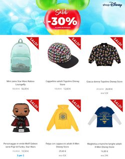 Offerte di Infanzia e Giocattoli nella volantino di Disney Store ( Per altri 8 giorni)