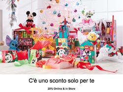 Offerte Giochi da tavola nella volantino di Disney Store a Roma