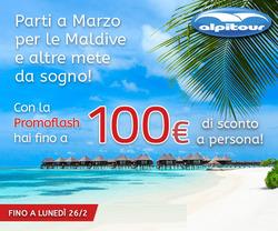 Offerte Viaggi nella volantino di Alpitour a Milano
