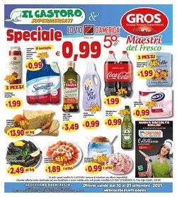Offerte di Gros nella volantino di Il Castoro Supermercati ( Per altri 2 giorni)