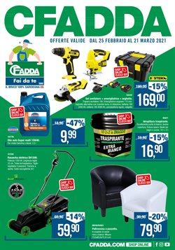 Offerte Bricolage e Giardino nella volantino di Cfadda a Trapani ( Pubblicato oggi )