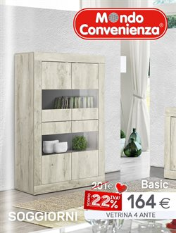 mondo convenienza - catalogo: 22% iva off 2017 - Mobili Buffet Mondo Convenienza