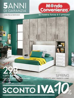 Offerte Tutto per la casa e Arredamento nella volantino di Mondo Convenienza a San Benedetto del Tronto ( Più di un mese )