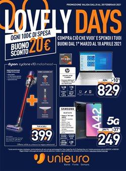 Offerte di tablet nella volantino di Unieuro ( Per altri 2 giorni)