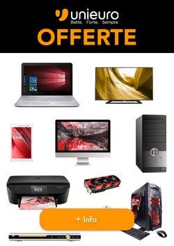 Offerte di Elettronica e Informatica nella volantino di Unieuro ( Pubblicato ieri)