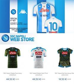 Offerte Sport nella volantino di Napoli Store a Milazzo ( Per altri 5 giorni )