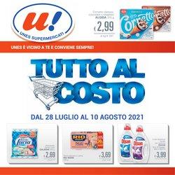 Offerte di Unes Supermercati nella volantino di Unes Supermercati ( Per altri 5 giorni)