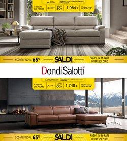 Offerte di Dondi Salotti nella volantino di Dondi Salotti ( Per altri 22 giorni)