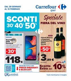 Offerte di carnevale nella volantino di Carrefour Iper ( Pubblicato ieri)