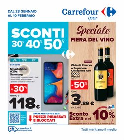 Offerte Iper Supermercati nella volantino di Carrefour Iper a Nichelino ( Pubblicato ieri )