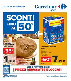 Offerte Iper Supermercati nella volantino di Carrefour Iper a San Giuliano Milanese ( Scade oggi )