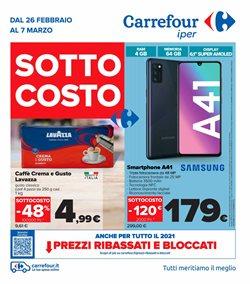 Offerte di smartphone nella volantino di Carrefour Iper ( Pubblicato oggi)