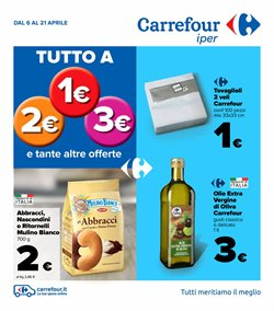Offerte Iper Supermercati nella volantino di Carrefour Iper a Milano ( Scade domani )
