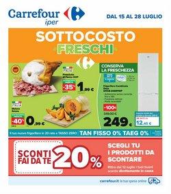 Offerte di Iper Supermercati nella volantino di Carrefour Iper ( Scade oggi)