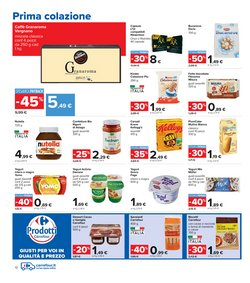 Offerte di Nespresso nella volantino di Carrefour Iper ( Scade oggi)