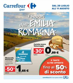 Offerte di Carrefour Iper nella volantino di Carrefour Iper ( Per altri 13 giorni)