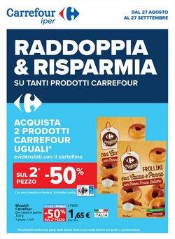 Offerte di Carrefour Iper nella volantino di Carrefour Iper ( Per altri 8 giorni)