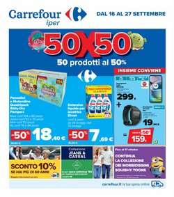 Offerte di Iper Supermercati nella volantino di Carrefour Iper ( Per altri 7 giorni)