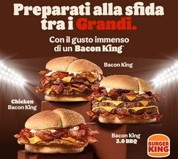 Catalogo Burger King ( Pubblicato ieri)