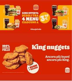 Offerte di Burger King nella volantino di Burger King ( Scade oggi)