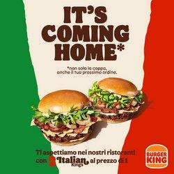 Offerte di Ristoranti nella volantino di Burger King ( Per altri 7 giorni)