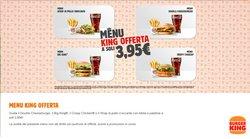 Offerte di Ristoranti nella volantino di Burger King ( Scade domani)