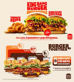 Offerte di Ristoranti nella volantino di Burger King ( Per altri 17 giorni)