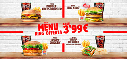 Offerte Caffetterie, ristoranti e pizzerie nella volantino di Burger King a Torino