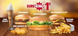 Offerte Caffetterie, ristoranti e pizzerie nella volantino di Burger King a Rozzano