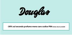 Offerte di Douglas nella volantino di Roma