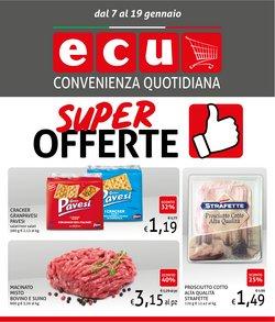 Offerte Discount nella volantino di Ecu Discount a Bologna ( Scade oggi )