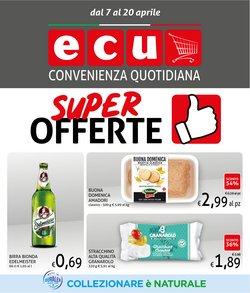 Offerte Discount nella volantino di Ecu Discount a Bologna ( Per altri 5 giorni )