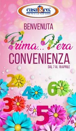 Offerte Tutto per la casa e Arredamento nella volantino di Casa & Co a Barletta ( Per altri 3 giorni )