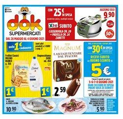 Offerte di Supermercati Dok nella volantino di Supermercati Dok ( Scaduto)