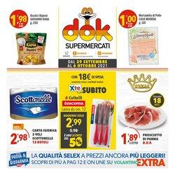 Offerte di Supermercati Dok nella volantino di Supermercati Dok ( Pubblicato oggi)