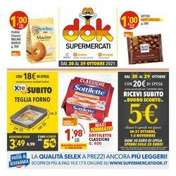 Offerte di Iper Supermercati nella volantino di Supermercati Dok ( Scade domani)