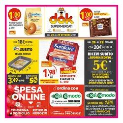 Offerte di Supermercati Dok nella volantino di Supermercati Dok ( Scade domani)