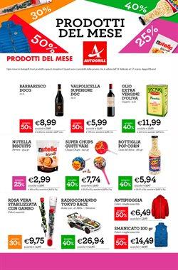 Offerte Ristoranti nella volantino di Autogrill a Palermo ( Per altri 18 giorni )