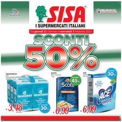 Offerte Iper Supermercati nella volantino di Sisa a Santa Teresa di Riva ( Pubblicato ieri )