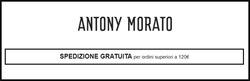 Offerte di Antony Morato nella volantino di Catania